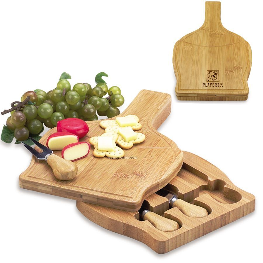 Chianti Bamboo Cheese Board Set