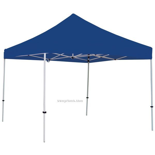 Deluxe 10' Square Blue Tent - Unimprinted