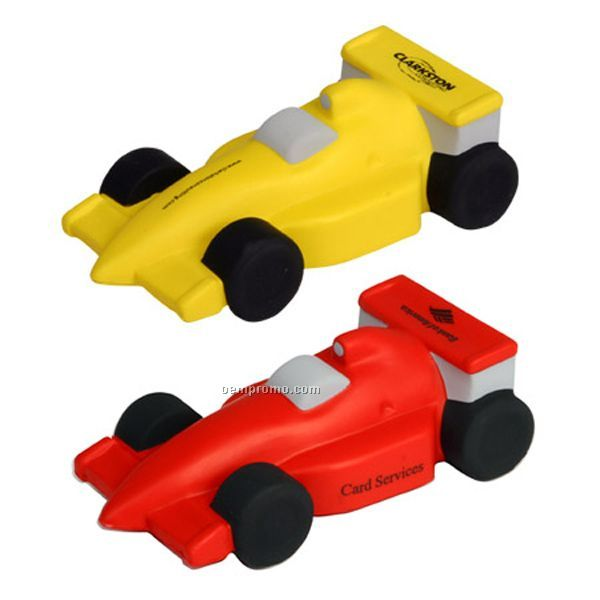 Race Car Squeeze Toy
