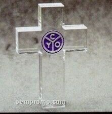 Acrylic Paperweight Up To 16 Square Inches / Cross