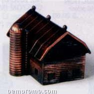 Bronze Metal Pencil Sharpener - Silo & Barn