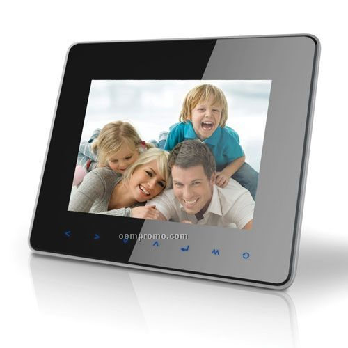 """Coby Dp870 8"""" Digital Photo Frame With Multimedia Playback"""