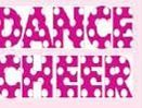 In Stock Dance Cheer Ink Transfers In Fuchsia Pink W/White Dots