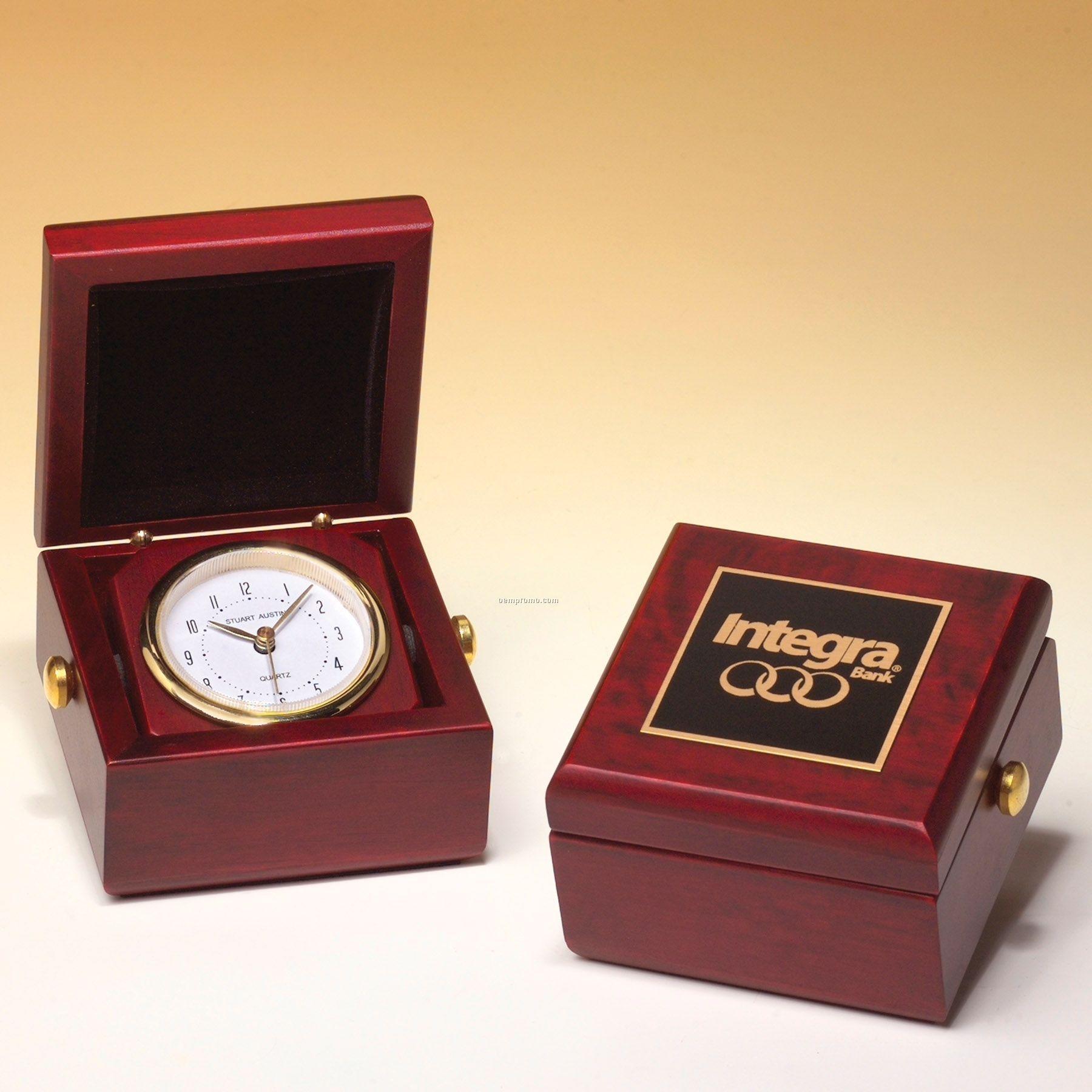 Miniature Captain's Desk Clock