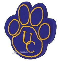 Foam Outlined Paw Print Cheering Mitt