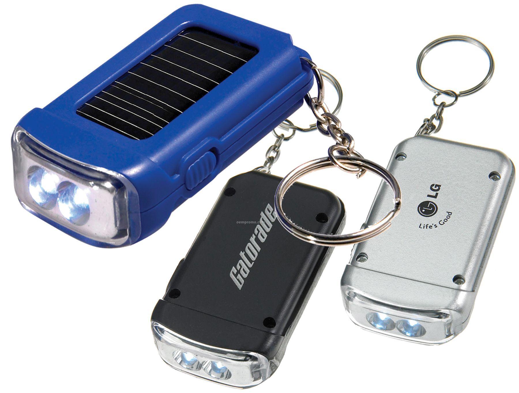 Solar Powered Flashlight Amp Keychain Combo China Wholesale