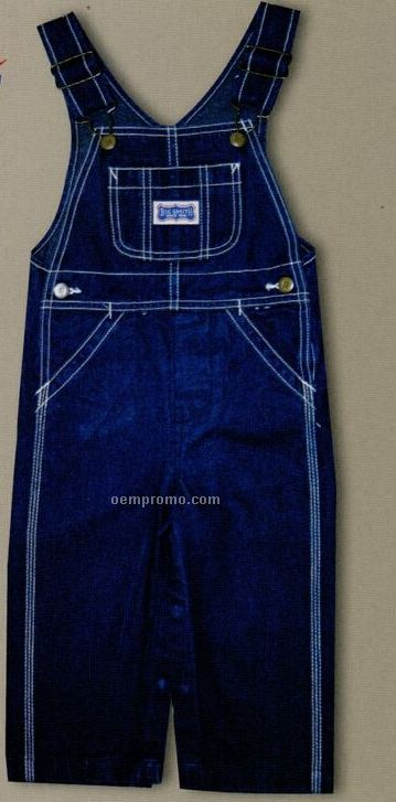 Walls Big Smith Infant Denim Bib Overalls