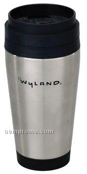 16 Oz. Stainless Travel Tumbler Mug / Plastic Liner