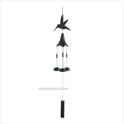 Hummingbird Cutout Wind Chimes
