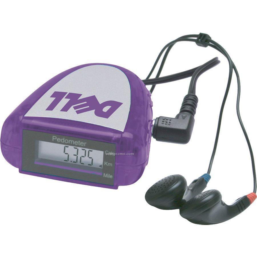 FM Scanner Pedometer