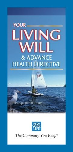 Living Will And Advance Health Directive Brochure Guide