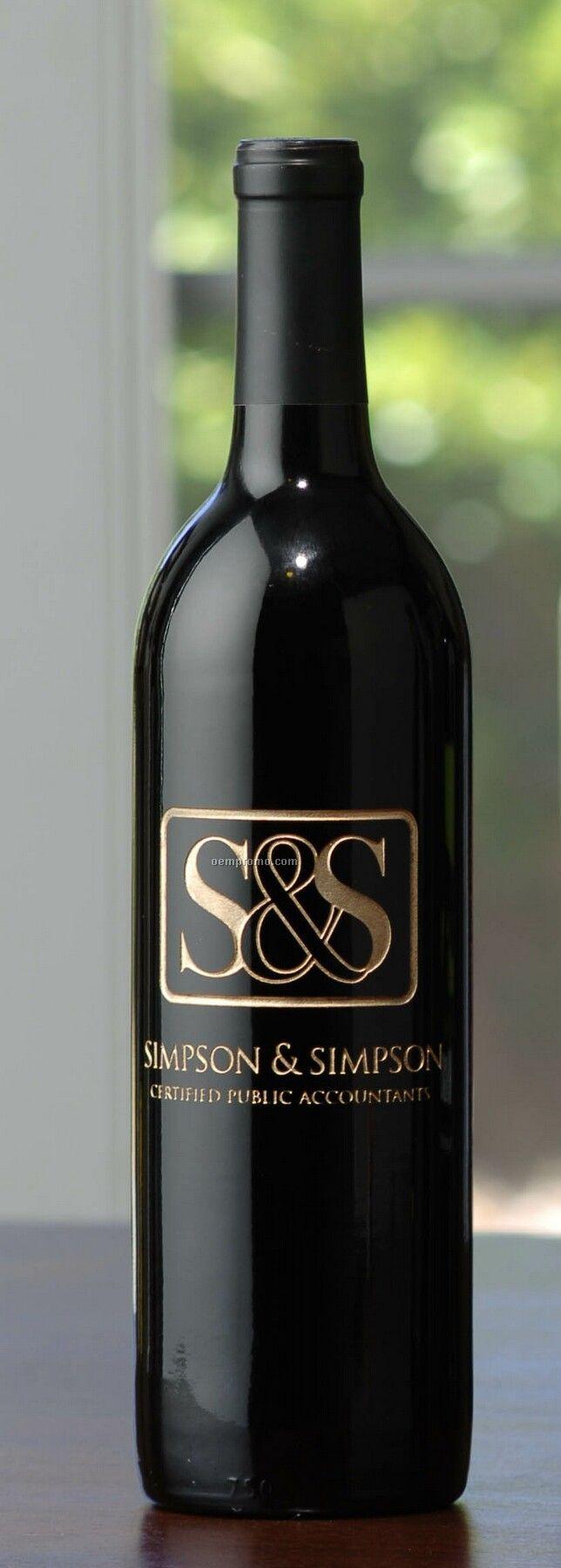 2009 Wv Chardonnay, Sonoma County, Barrel Fermented (Etched Wine)