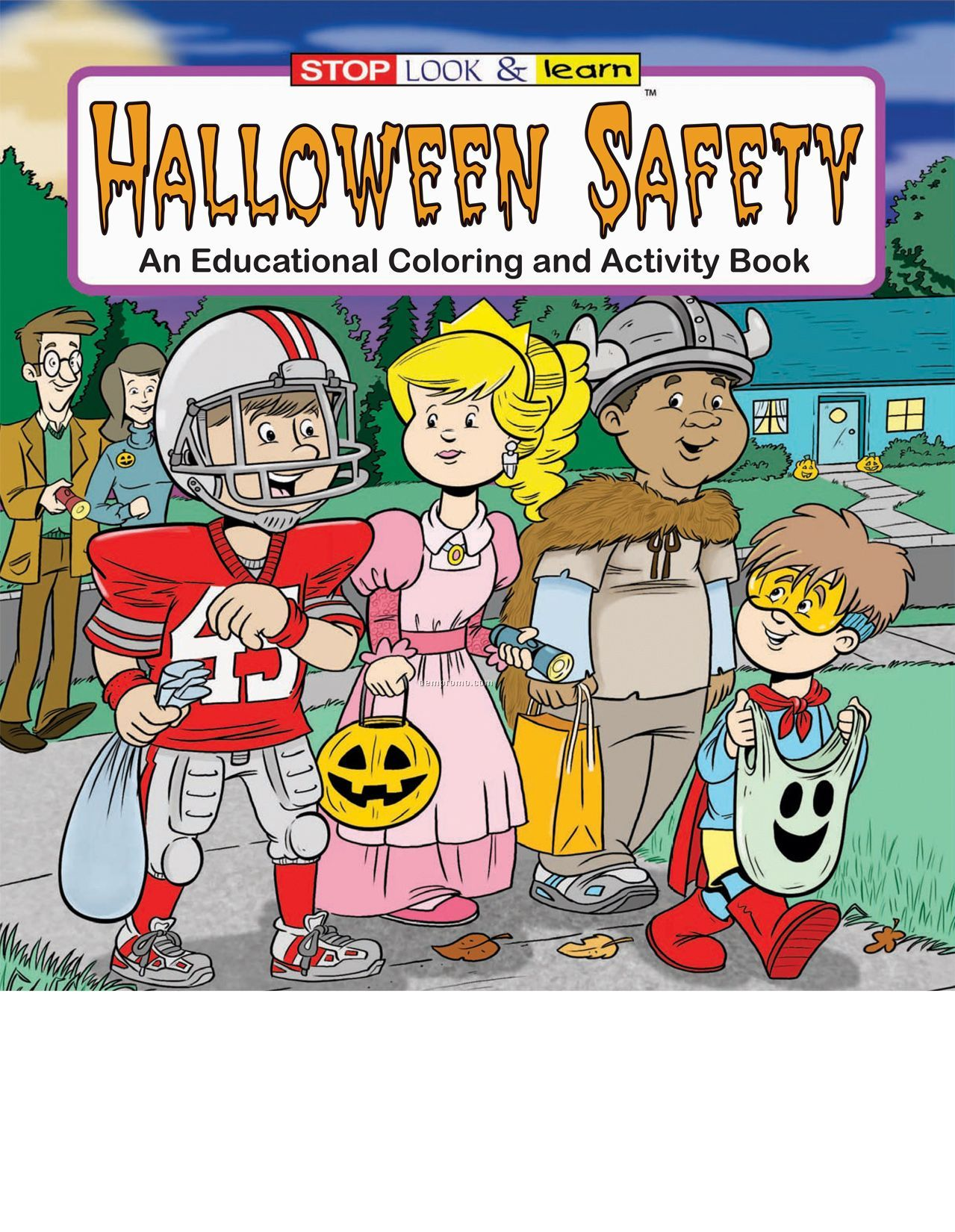 coloring pages halloween safety videos - photo#43