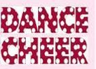 In Stock Dance Cheer Ink Transfers In Red W/White Dots