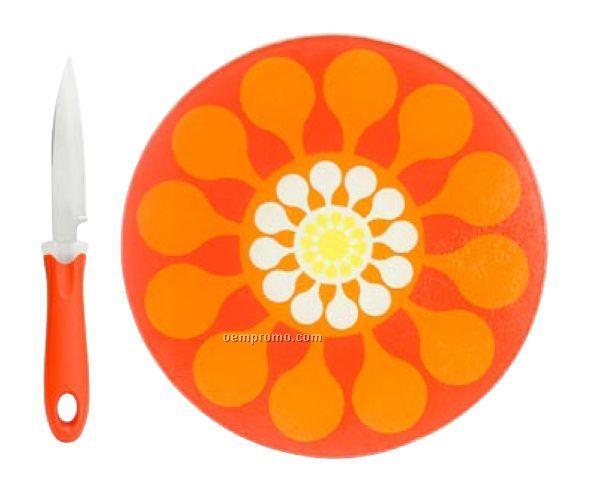 Juicy Cutting Board W/ Knife