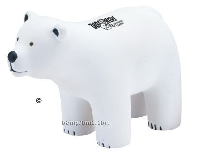 Polar Bear Squeeze Toy