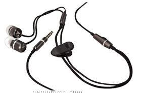 Premium In Ear Stereo Headset W/Microphone