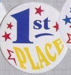 Stock Recognition Button - 1st Place
