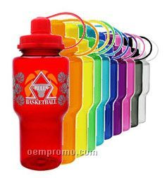 24 Oz. Bpa Free Water Bottle With Speciality Pyrogggrip Ink!