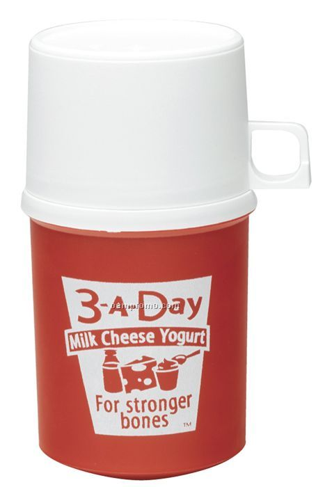 8 Oz. Foam Insulated Thermal Bottle With Cup