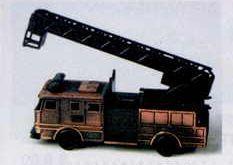 Bronze Metal Pencil Sharpener - Fire Engine