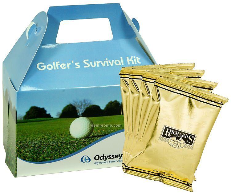 Gourmet Gift Box - Golf Design