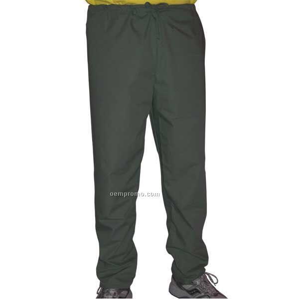 Unisex Deluxe Scrub Pants / No Pocket