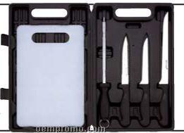 Maxam 5 PC Fishing Cutlery Set
