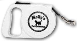 Retractable Pet Leashes Printed (White Only)