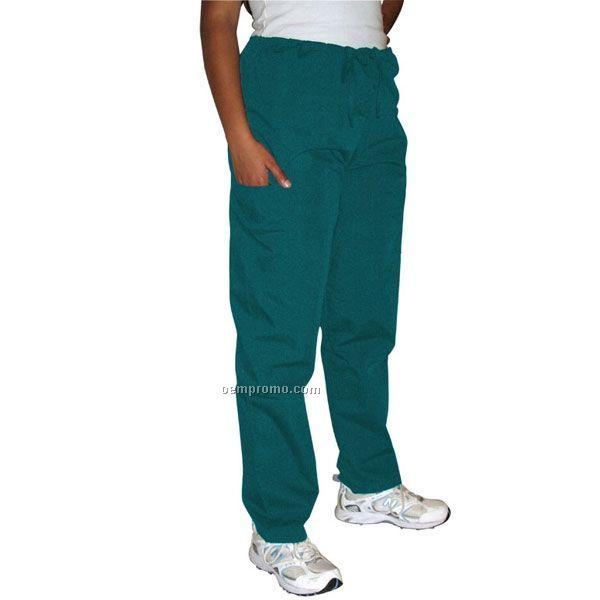 Unisex Deluxe Scrub Pants W/ Pocket