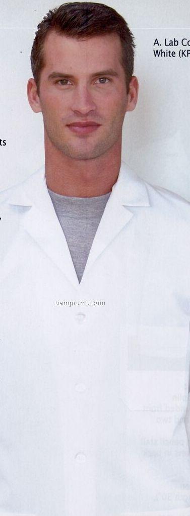 White Red Kap Women's 6 Gripper Front Lab Coat
