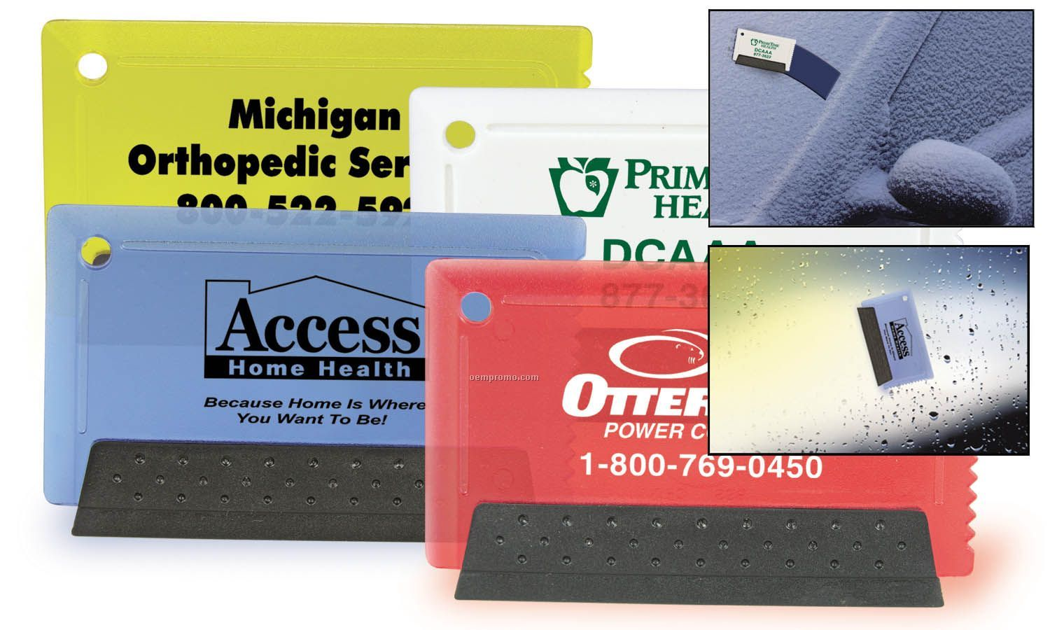 Credit Card Ice Scraper / Squeegee