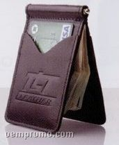 Essential Series Slim Line Executive Wallet W/ Money Clip