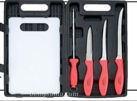 Flex Fillet 5 PC Fishing Cutlery Set