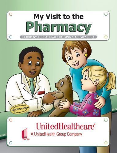 Fun Pack Coloring Book W/ Crayons - My Visit To The Pharmacy
