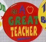 Stock Recognition Button - A Great Teacher