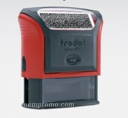 "Trodat Self-inking Security Stamp W/ Ad Window (2 3/8""X7/8"")"