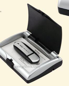 4 Port High Speed USB 2.0 Hub W/ Storage Compartment