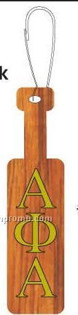 Alpha Phi Alpha Fraternity Paddle Zipper Pull