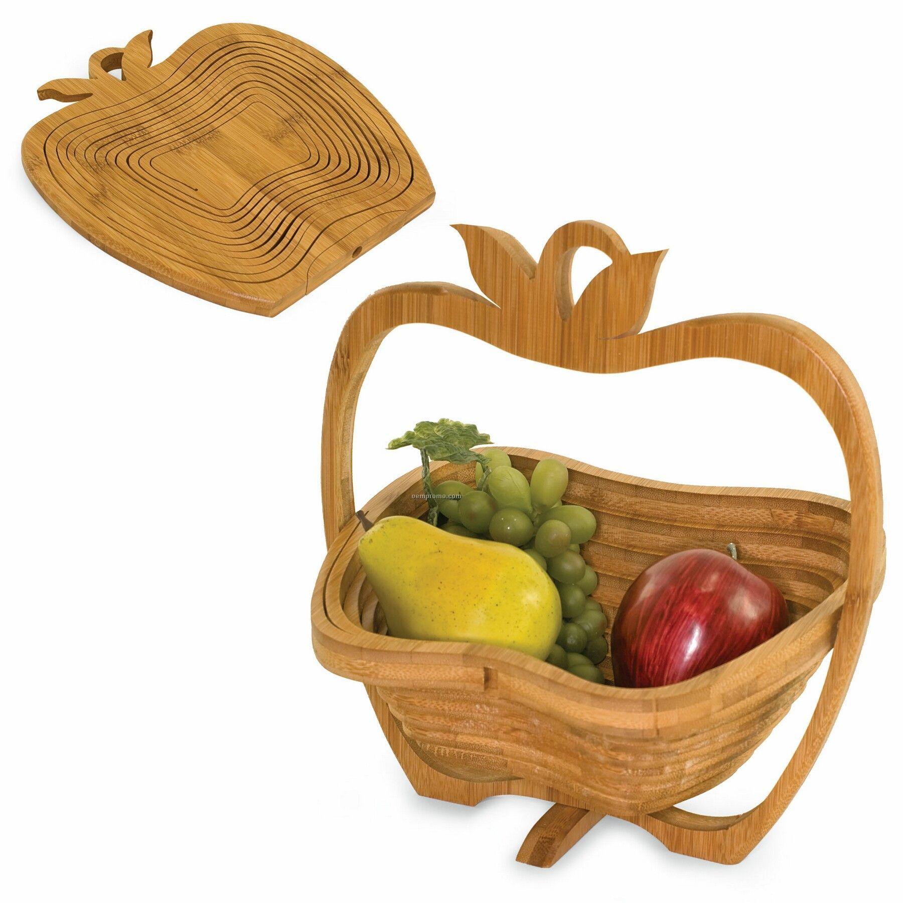 Contour Apple Shaped Fruit Basket / Trivet