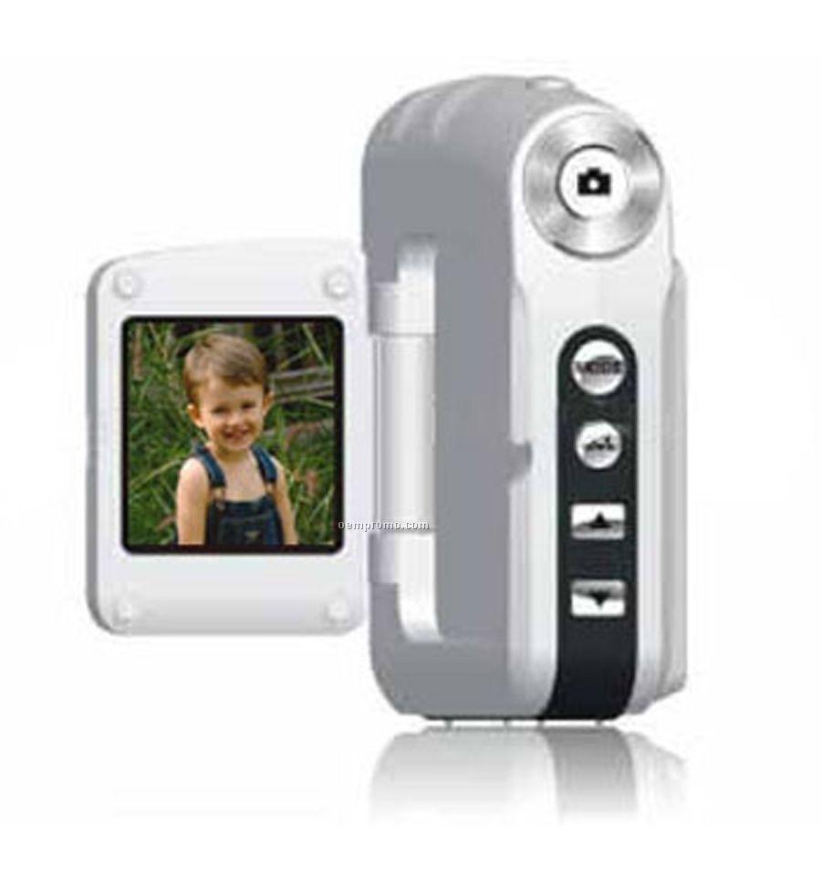 Silver Digital Video Camera