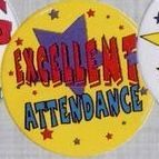 Stock Recognition Button - Excellent Attendance
