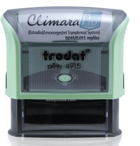 "Trodat Printy Self Inking Rubber Stamp W/ Ad Window (2 3/4""X1"")"