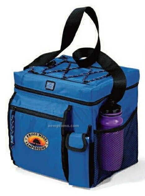 All Sport Polyester Cooler W/ Multiple Pocket