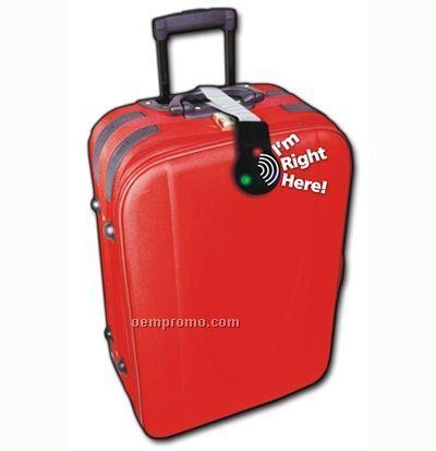 "Light Up Luggage Tag W/ Sound & Remote Control (4.75""X3""X0.5"")"