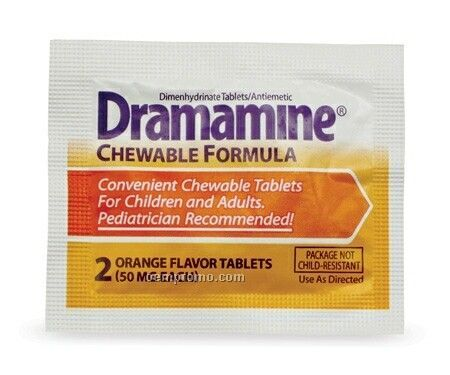 Dramamine Antiemetic Chewable Tablet Packet
