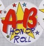 Stock Recognition Button - A-b Honor Roll