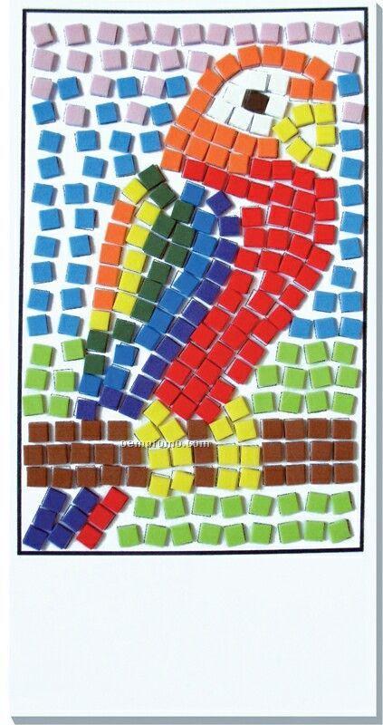 Mosaic Craft Kit - Parrot