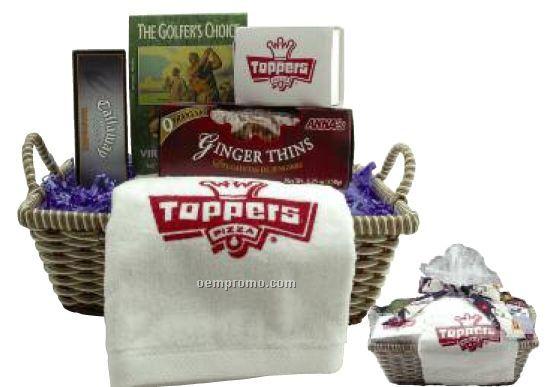 Premium Golf Gift Basket