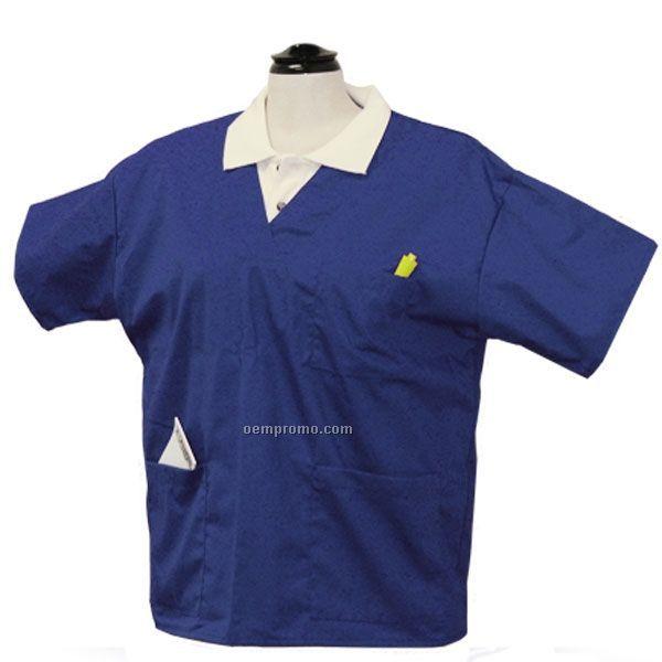 Premium Scrub Tops W/ Patch Pocket
